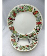 """Marine Foundation - Toys for Tots - set/lot of 4 Dinner Plates - 10 3/8""""... - $28.66"""