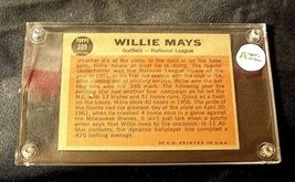 Willie Mays Baseball Trading Card # 395 Outfield- Nash AA19-BTC4006 Vintage Coll image 4