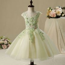 Chic / Beautiful Flower Girl Dresses Sage Green  ~ In Stock - $102.00