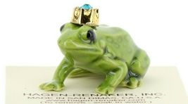 Birthstone Frog Prince December Simulated Zircon Miniatures by Hagen-Renaker image 7