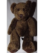 "Bixby Bear #4933 Russ Berrie Bears From The Past 10"" Textured Brown Fur ... - $16.44"
