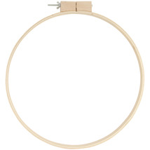 Wood Quilting Hoops 14 Inches 0.75 Inches Depth - $13.23