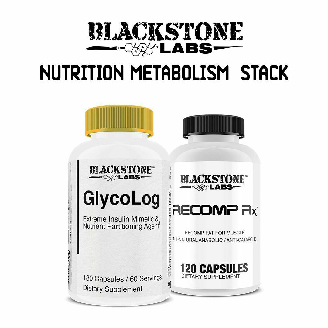 Primary image for Blackstone Labs Nutrition Metabolism Stack - Recomp RX + Glycolog