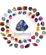 SoapRocks Gems In The Rough Palmstones Gift Set Gemstones Birthstones So... - $13.84+