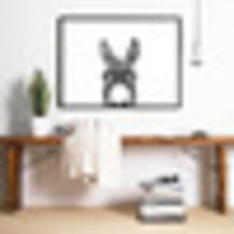 Art canvas posters prints farm photography painting donkey ears wall pictures.jpg 50x50 thumb200
