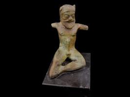 Satyr miniature bronze statue - $199.00