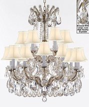 Made with Swarovski Crystal Maria Theresa Chandelier Lights Fixture Pendant Ceil - $869.64