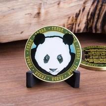 "PANDA ANIMAL WILDLIFE FACTS 1.75"" CHALLENGE COIN - $17.09"