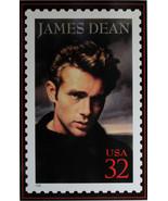 James Dean 32 C Stamp  Metal Sign - $20.00