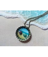 3D One-Of-A-Kind Beachy Bottle Cap Necklace (Starfish) - $6.00