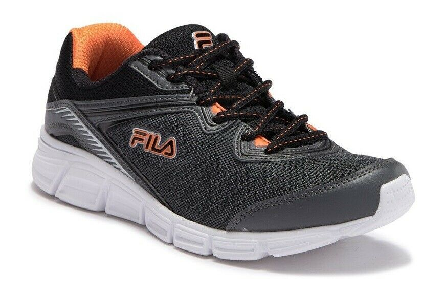 Primary image for FILA MEMORY VERNATO TRAINER SPORTS SNEAKERS MEN SHOES CHARCOAL/BLACK SIZE 13 NEW