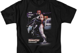 RoboCop Retro 80's action movie Peter Weller Cyborg graphic t-shirt MGM105 image 2