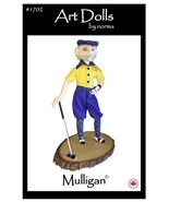 """Mulligan"" Cloth Doll PDF Sewing Pattern By Norma Inkster - $10.00"