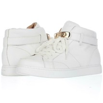 Coach Richmond Fleece Lined High Top Fashion Sneakers F61, White, 11 US ... - $76.79