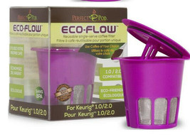 Perfect Pod Eco-Flow single reusable coffee filter for Keurig 2.0 & 1.0 Brewer - $10.50