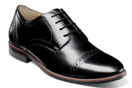 Nunn Bush Fifth Ward Flex Cap Toe Oxford Shoes Black Dressy 84816-001 - $84.60