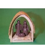 Hallmark Keepsake Ornament Miniature Creche 1st The Series 1985 - $3.34