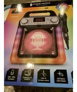 Singing Machine Groove Mini Karaoke System Sealed Inside SML652BK - $46.56