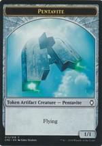 MTG x4 Pentavite Token Commander Anthology 2 Artifact Magic the Gathering NM/M - $0.89