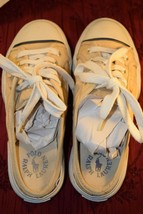 Ralph Lauren Polo Mule Sneakers with Laces ~ Women's Size 6.5 B ~ Beige / Tan  - $12.21 CAD