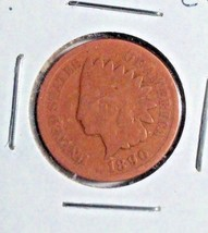 1890 Indian Head Cent extra fine circulated bronze full date - $18.81