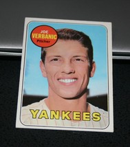 1969 Topps Baseball Card #541 Joe Verbanic - $0.98