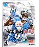 Madden NFL 13 (Nintendo Wii, 2012) - $5.95
