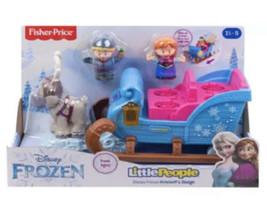 Fisher-Price Little People Disney Princess Frozen Kristoff's Sleigh New - $29.99
