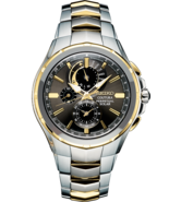 AUTHORIZED DEALER Seiko SSC376 Coutura Radio Controlled Two Tone Watch - $367.54