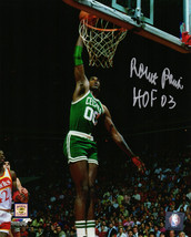 ROBERT PARISH Signed Boston Celtics Action Dunk 8x10 Photo w/HOF'03 - SC... - £59.75 GBP