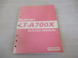 Suzuki 2005 LT-A700X Service Manual P/N 99500-46060-01E - $32.51