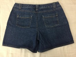 Sonoma Blue 100% Cotton Denim Jean Shorts Women Size 12 - $10.04
