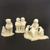 Dept 56 Snowbabies Lot Of 2 Figurines Twinkle Little Stars Helpful Frien... - $28.04