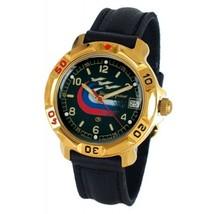 Vostok Komandirskie 819260 Russian Army Mechanical Mens Wristwatch Military  - $34.30