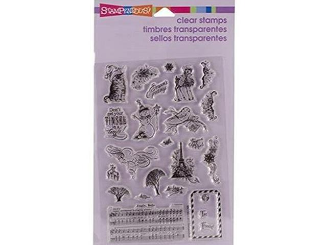 Stampendous Christmas Charms Stamp Set #SSC1183