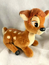 "Disney Store Exclusive Original 14"" Bambi Plush Disneyland Deer Stuffed ... - $15.99"