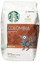 Starbucks Colombia Ground Coffee, 12 oz - $13.99