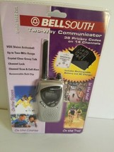 Bell South two way communicator, 38 privacy codes, 2 mile range - $18.69