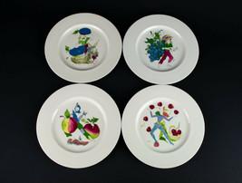 Castleton China Pixie Harvest Luncheon Plate CHOICE Martel Vertes MCM Vi... - $25.00