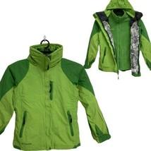 Columbia Omni-tech Bugaboo youth interchange 3 in 1 winter hoodie jacket 14/16 - $97.41