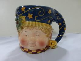 Elfo di Natale Susan Winget Ceramica Caffè Vacanza Tazza 710ml - $23.04