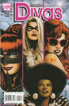 Marvel Divas #1 VF/NM 2009 Marvel Comics 1st print 1970's Variant 1:10 - $4.94