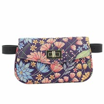 ZORFIN Fashion Quilted Leather Fanny Packs for Women Wasit Bag with Two ... - $25.19