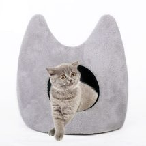 Foldable Pet House & Bed Soft Kennel Mat Warm Cushion - $39.36