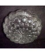 "Floral Star Burst Pan Light Shade Clear Glass 6 7/8"" Flush Mount Ceiling... - $19.95"
