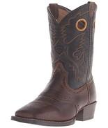 Kids' Roughstock Western Cowboy Boot, Distressed Brown/Black, 1 M US Lit... - $2.332,02 MXN