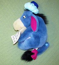 "EEYORE Get Well Plush ICE BAG Thermometer Sign 13"" Plush Stuffed Pooh Disney Toy image 6"