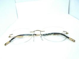 Silhouette 5227 20 6051 Gold 49-17-140 Rimless Eyeglass Frames Austria - $79.49
