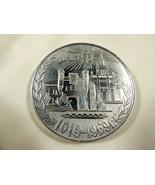 VTG BREST CITY BELARUS  PLAQUE MEDAL RARE ORIGINAL 950 YEARS 1019-1969 2... - $59.40