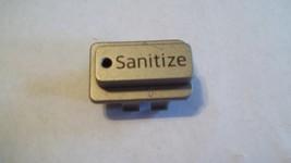 Samsung Dishwasher Model DW80J3020US/AA Push Button S(anitize) DD81-01819A - $7.95